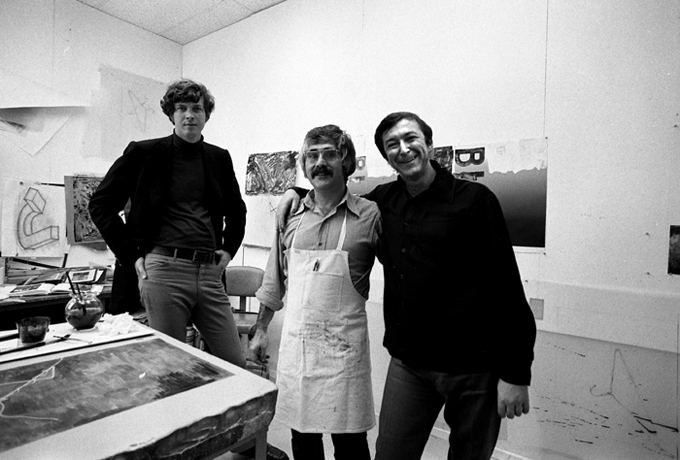 Michael Chrichton, Ken Tyler, Jasper Johns